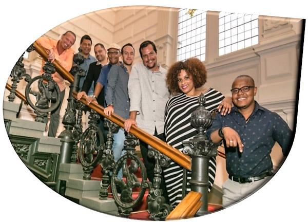 Cabocuba Jazz dari Belanda yang menampilkan jazz Afro-Carribean dengan melodi yang pasti menghangatkan pentas.