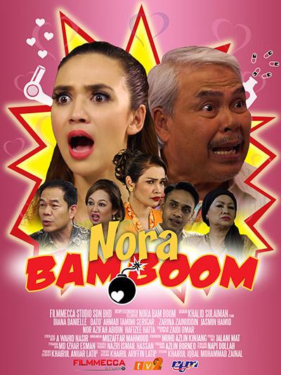 Telemovie 'Nora Bam Boom' di TV2, Jumaat ini.