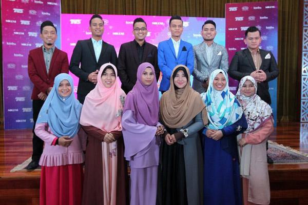 Barisan peserta Da'i Pendakwah Nusantara.