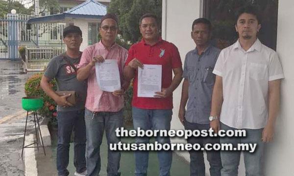 Empat NGO di Tawau tampil membuat laporan polis di IPD Tawau.