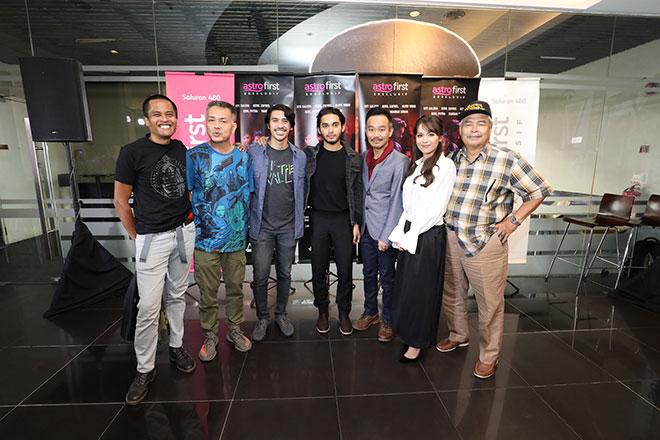 (Dari kiri) Amerul Affendi, Chew Kit Wah, Iedil Putra, Aeril Zafrel, Alvin Wong, Siti Saleha dan Dato A Tamimi Siregar semasa satu sidang media di Kuala Lumpur baru-baru ini.