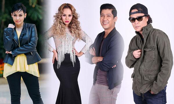 Misha, Siti Sarah, Tam Spider & Zarul dalam Mentor Otai