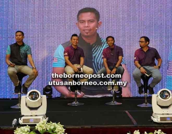 Sebahagian daripada aktiviti yang diadakan pada Program Jelajah Milenia Negeri Sarawak.