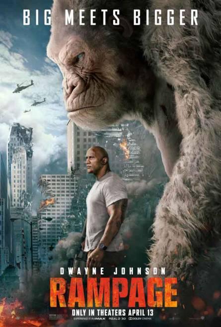 Poster filem Rampage