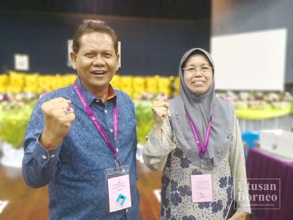 MUIS dan Hamisa kini mewakili legasi BN Kalabakan untuk meneruskan agenda perjuangan mereka untuk rakyat sebagai Adun.