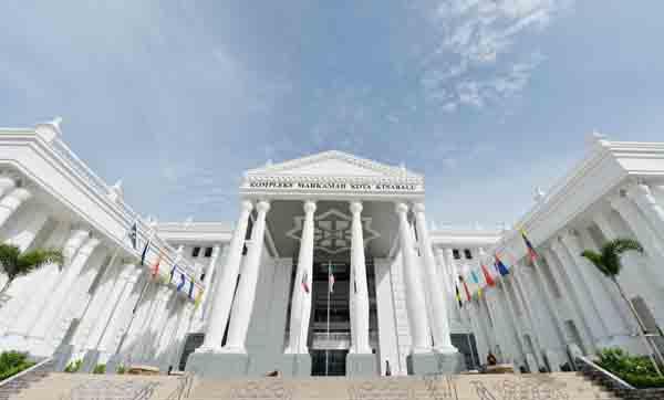 Kompleks Mahkamah Baharu Kota Kinabalu Mula Beroperasi Sepenuhnya Utusan Borneo Online