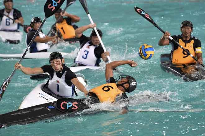 aktiviti kayak dalam sukan
