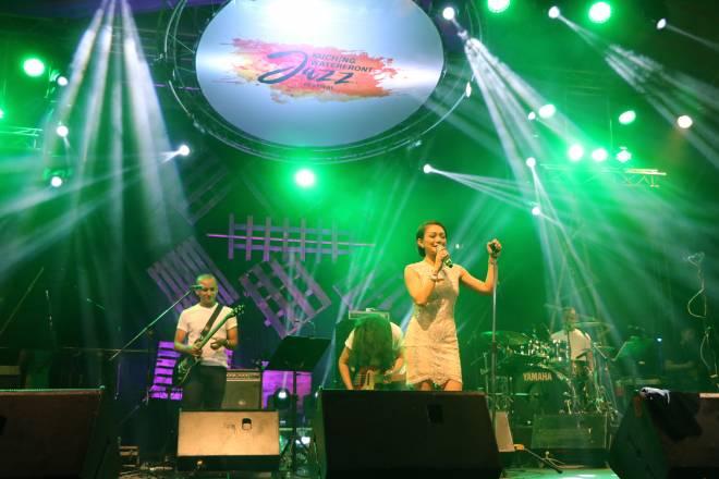 Atilia Haron, nama yang tidak perlu diperkenalkan lagi di kalangan peminat jazz tempatan.