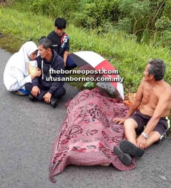 Mangsa maut di lokasi kejadian selepas dirempuh kenderaan pacuan empat roda.