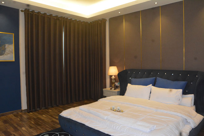 Ruangan bilik tidur utama.