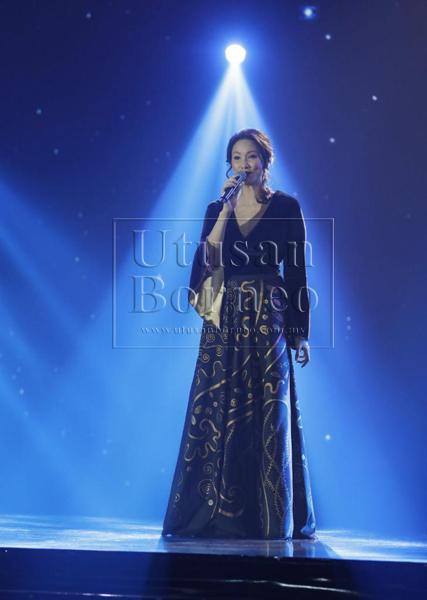Antara artis yang membuat persembahan pada majlis Makan Malam Gala ATA Ke-23