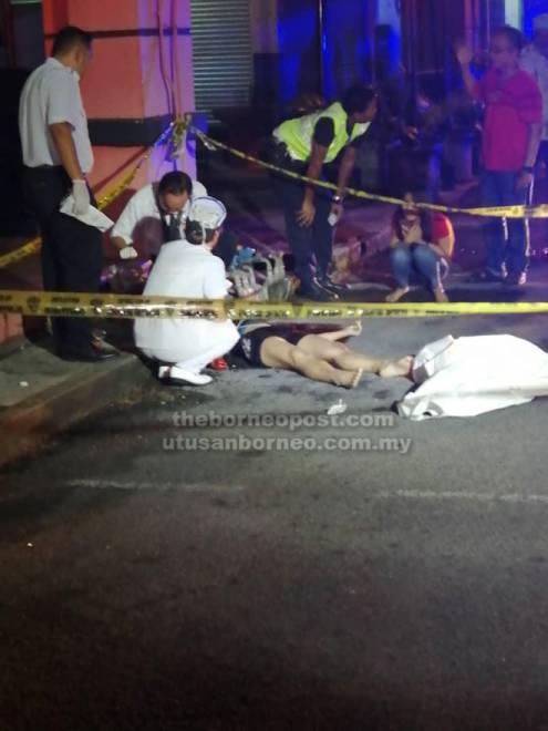 Mangsa disahkan meninggal dunia di tempat kejadian akibat kecederaan parah di kepala.