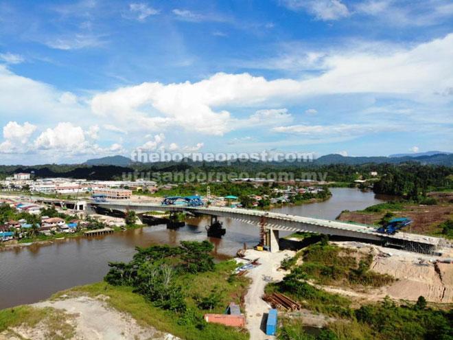 Jambatan Batang Tatau yang akan membuka lembaran baharu dalam aspek perhubungan di Tatau.