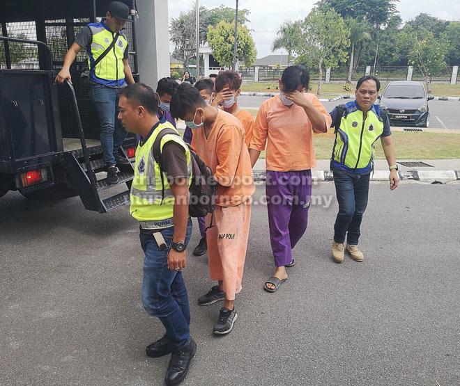 Lima suspek utama kes bunuh ditahan reman tujuh hari