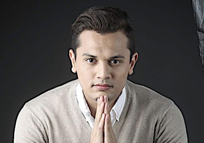 Haris Ismail sebagai  watak utama dalam telemovie 'Keliru Ibu'.