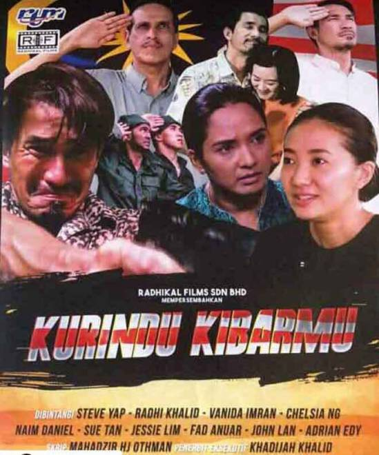 Telefilem khas sambutan Hari Malaysia bertajuk 'Ku Rindu Kibarmu' arahan Nuad Othman temui penonton pada 14 September ini, jam 3.05 petang menerusi saluran TV1.