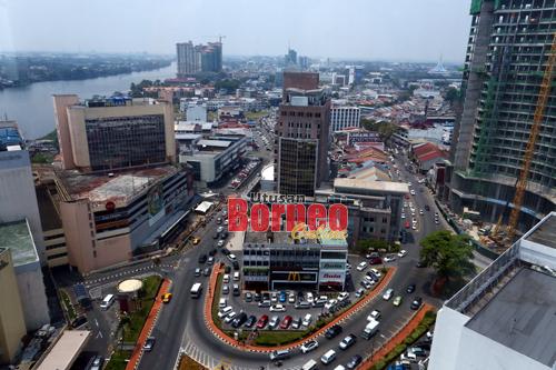 Keadaan Ibu Negeri Sarawak, Kuching yang kian maju.