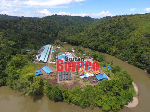 RH Matan, Gendang dan Selugo, Sungai Katibas disediakan dengan sistem SARES.