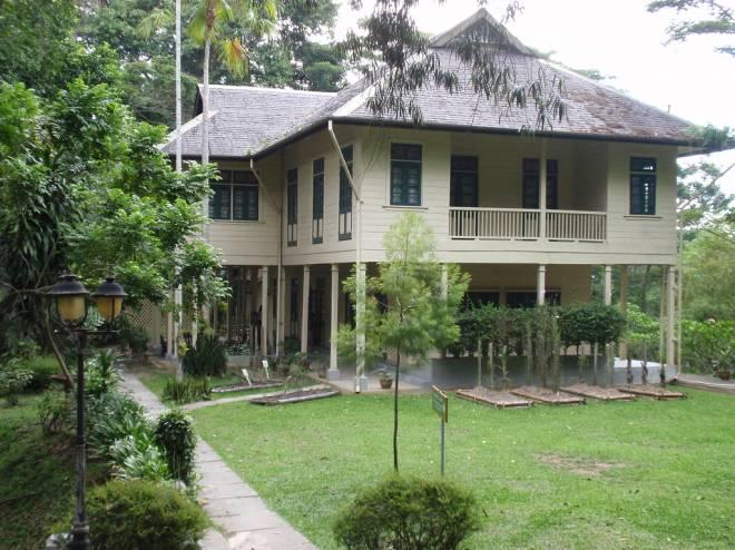 Rumah Agnes Keith di Sandakan.