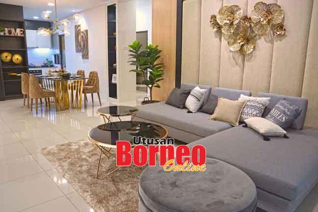 Naim Sapphire terletak di dalam kawasan strategik pembangunan dalam bandar raya Kuching.