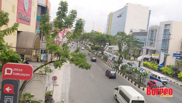 Pemandangan sebahagian kota Balikpapan yang diyakini bakal berubah wajah.