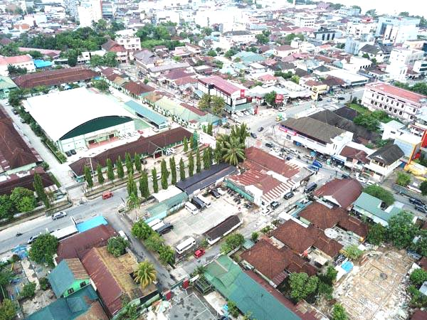 Sebahagain lagi pemandangan kota Samarinda.