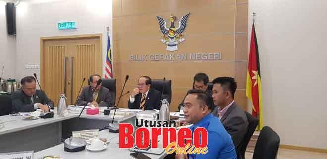 Uggah nyadi chairman aum JPBN (Monsun Timur Laut) di Kuching kemari.