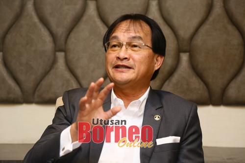Baru pada sidang media di sebuah hotel terkemuka di Kuching pada Rabu.