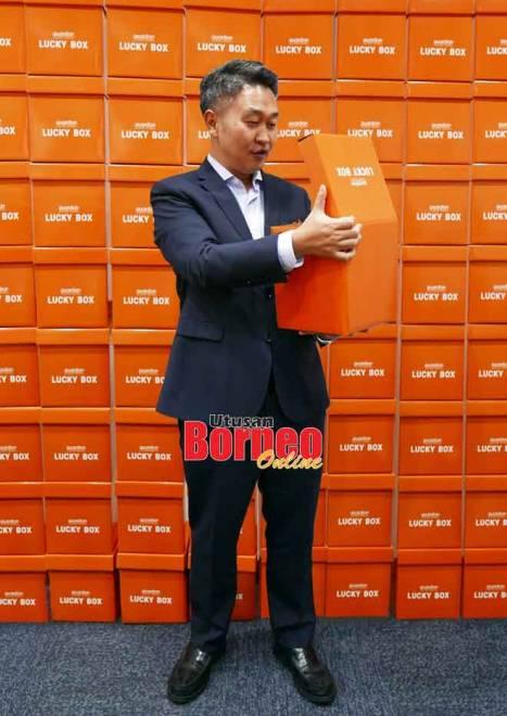 Cho bersama Guardian Lucky Box.