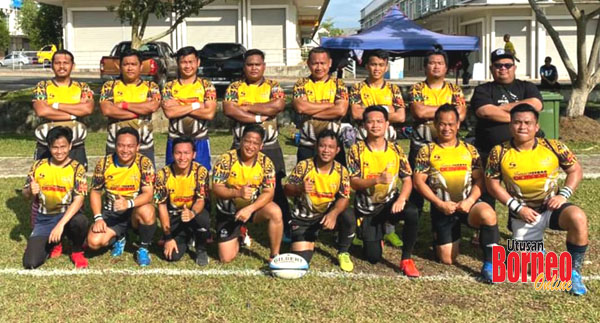 Pasukan ragi PSKPPS Keningau mencpita sejarah muncul juara edisi pertama Kejohanan Ragbi PSKPP Sabah di Sandakan.