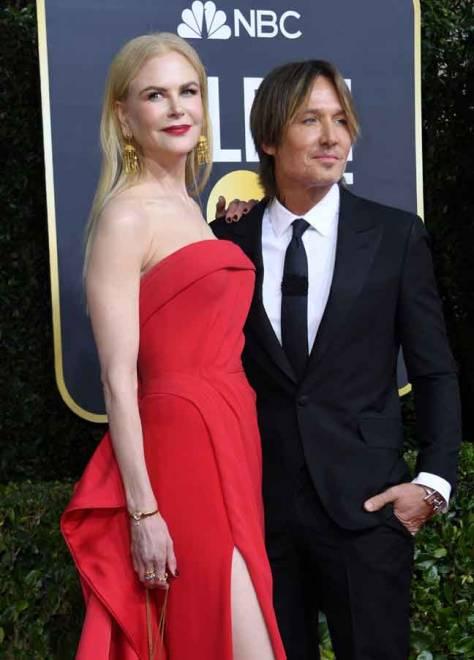 Nicole Kidman dan suaminya, pemuzik Keith Urban. — Gambar AFP