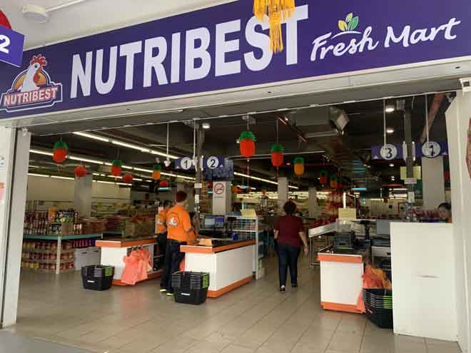Warga kota dipelawa mengunjung outlet Nutribest Fresh Mart di Wisma Wan.