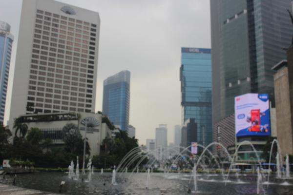 Jakarta kota yang maju dan moden.