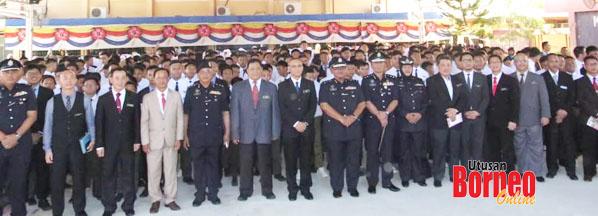 Zabidi mewakili Pesuruhjaya Polis Sabah melancarkan program Jom Ke Sekolah Peringkat Negeri Sabah yang diadakan di SMK Likas Kota Kinabalu.