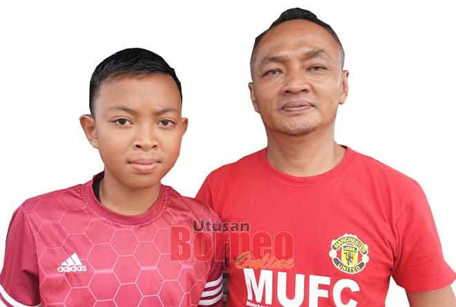 Yusri dan anaknya, Aniq.