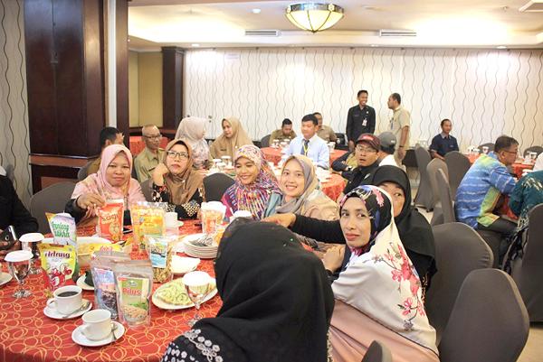 Antara usahawan Tarakan yang hadir dalam majlis itu.