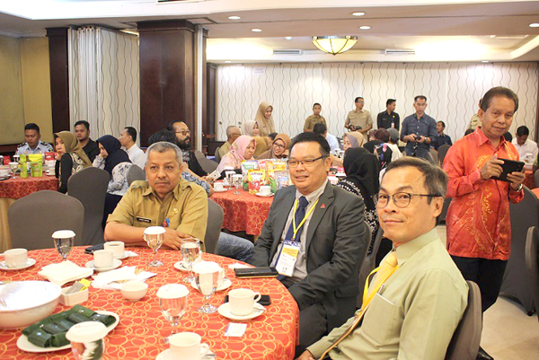 Antara delegasi FMM yan hadir dalam majlis business matching.