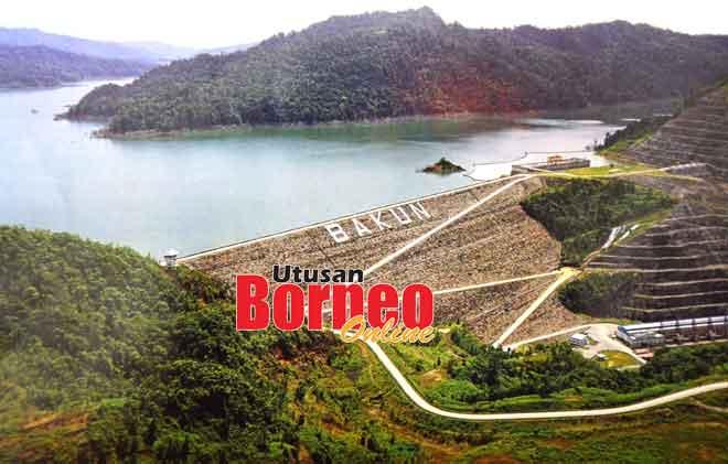 Empangan Hidroelektrik Bakun.