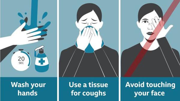 Kementerian Kesihatan melaksanakan pelbagai cara memberi nasihat dan panduan kepada orang ramai mengenai pencegahan virus COVID-19.