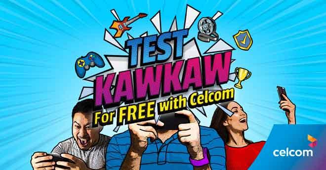 Kempen Test KawKaw menawarkan kandungan digital menerusi kaedah langganan percubaan percuma sehingga 30 April 2020.