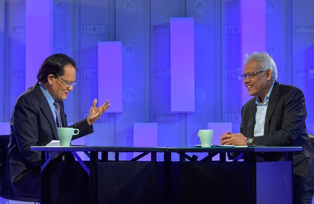 """Perintah Kawalan Pergerakan"""" terbitan Bernama TV di Wisma Bernama hari ini."""