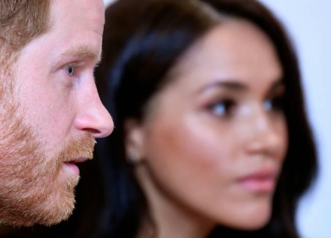 Putera Harry dan Meghan - Gambar fail AFP