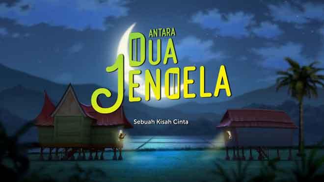 'Antara Dua Jendela' sebuah kisah cinta antara dua rumah kampung, Dara (kanan) dan Uda (kiri) terbaharu daripada Petronas.