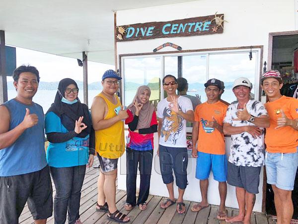 Staf Mari Mari Sepanggar Island Lodge kini bersedia menerima kunjungan pelancong.