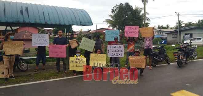 Penduduk Kampung Punang mahu isu air diselesaikan segera.