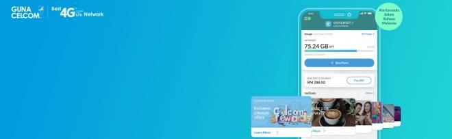 Pengguna boleh menggunakan internet tanpa caj yang tersembunyi dan kemudahan akses Internet berkelajuan tinggi di mana dan bila-bila sahaja melalui aplikasi Celcom Life