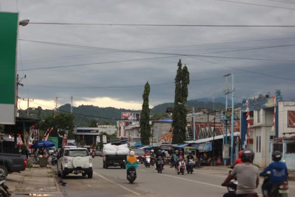 Kota Tolitoli di Sulawesi Tengah.
