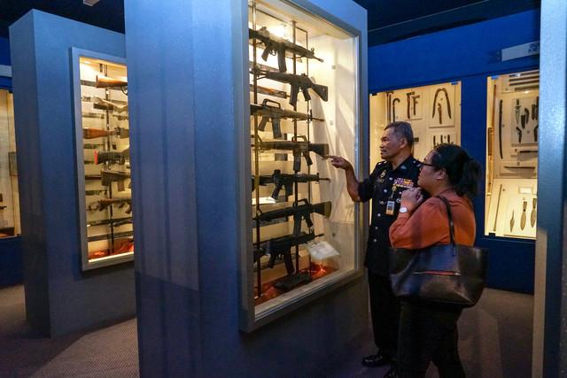Muzium PDRM simpan pusaka Sang Saka Biru
