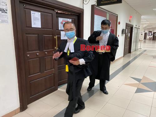 Dato Sri JC Fong selesai prosiding.