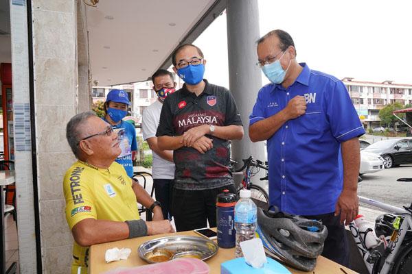 Masyarakat Kapayan kelihatan selesa dengan Lu sebagai calon MCA DUN Kapayan.